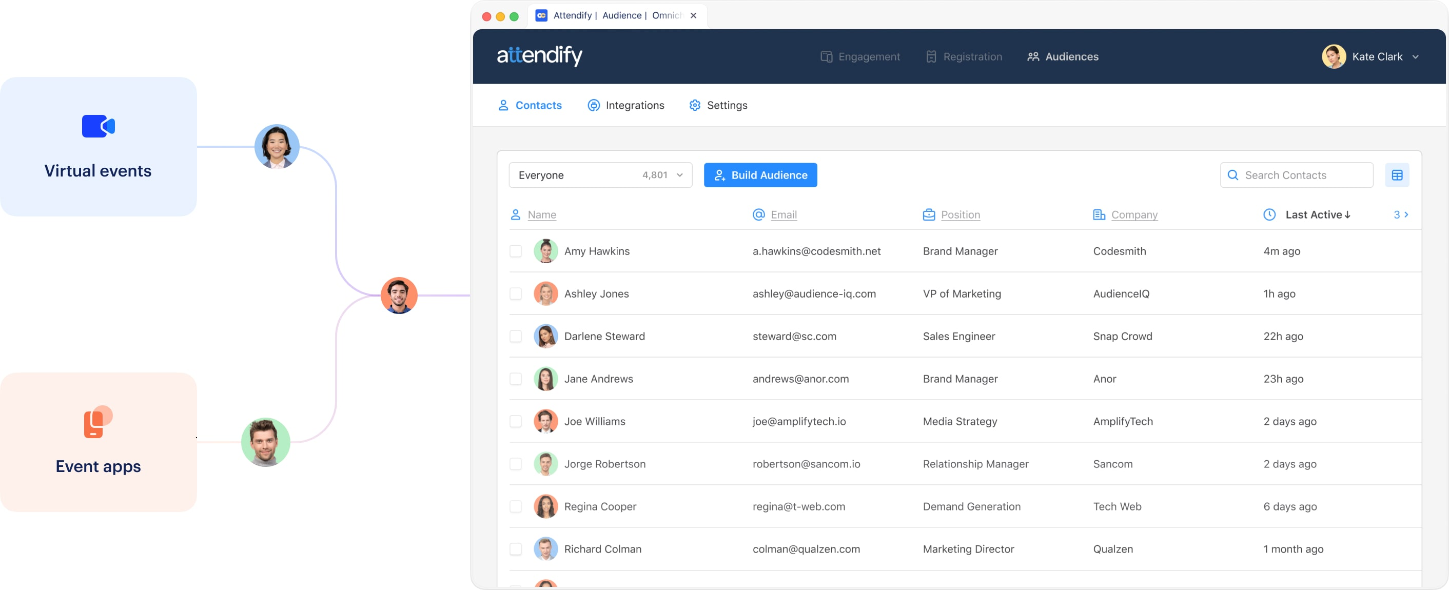Centralize event tracking and engagement data with Attendify