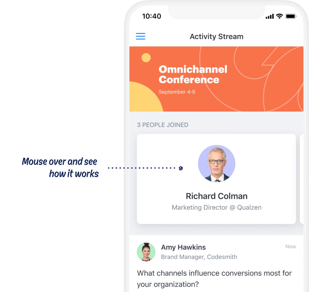 Attendify leading native mobile event apps