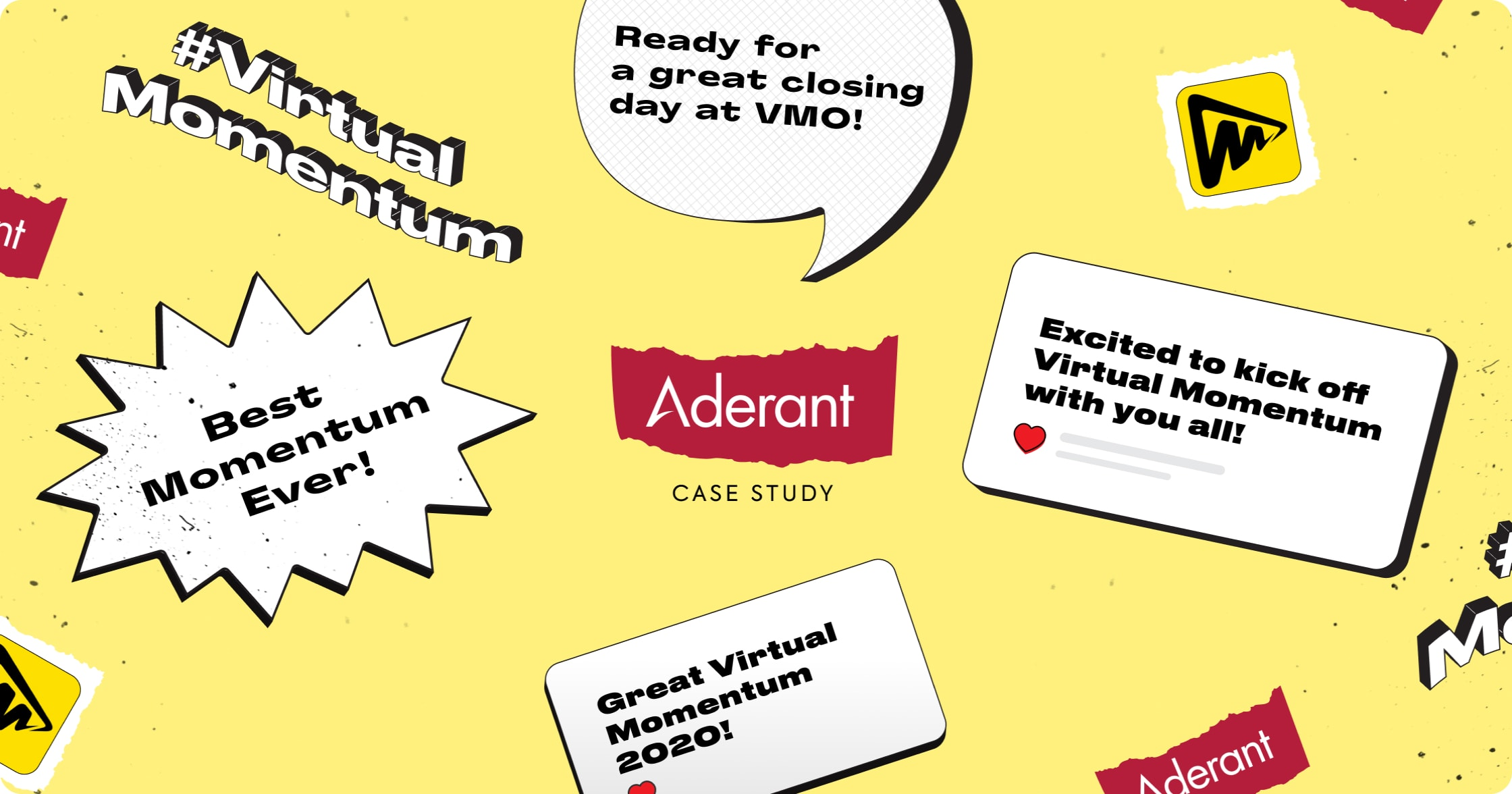 Aderant's online user conference & virtual event example