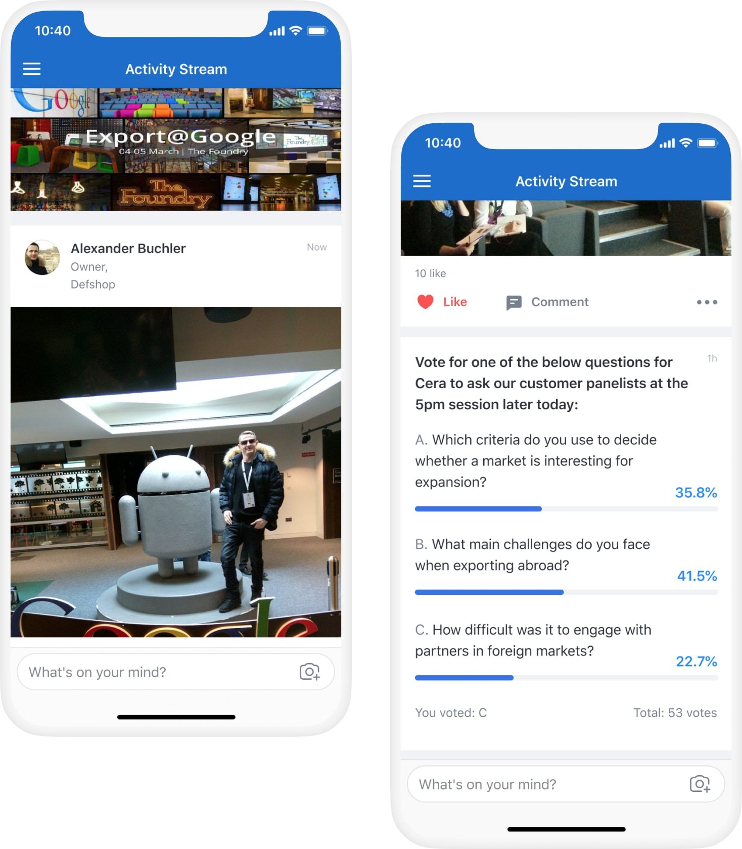 Why it was easy for Google to build a social event