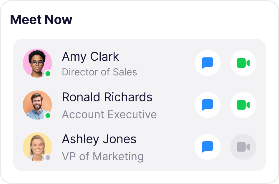 Attendify's instant video calls that connect attendees to event sponsors