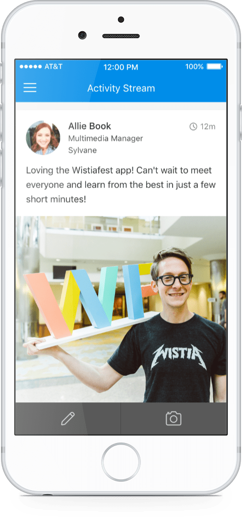 Event App Case Studies and Reviews   Wistia   Attendify